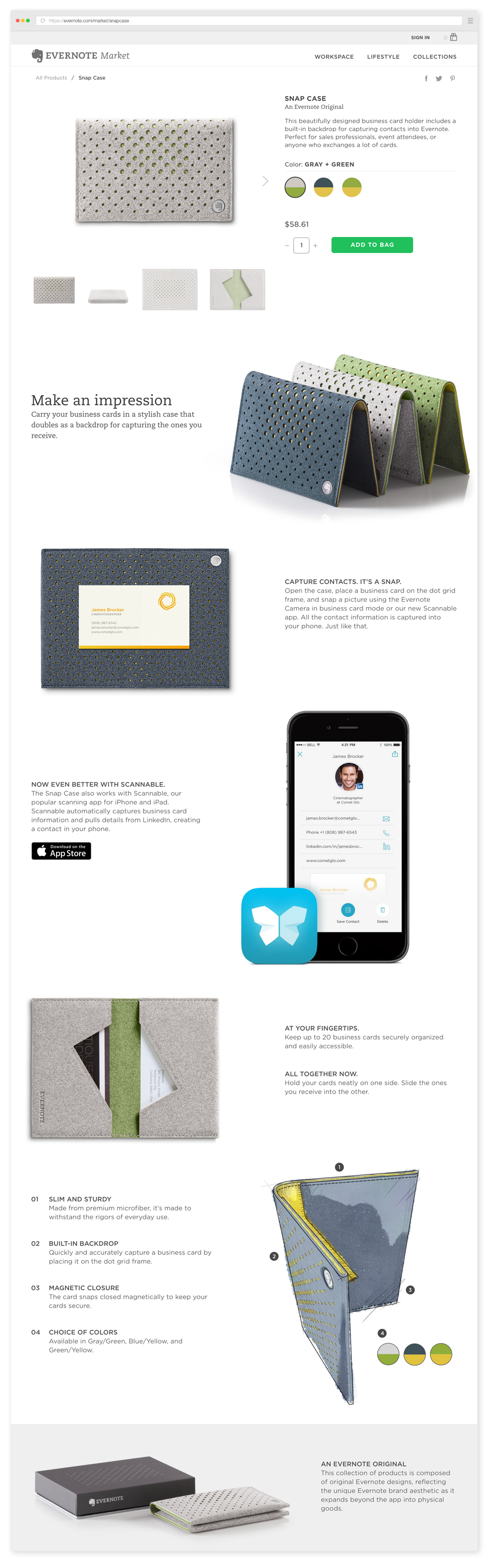 Using Evernote For Business Cards Choice Image - Business Card Template